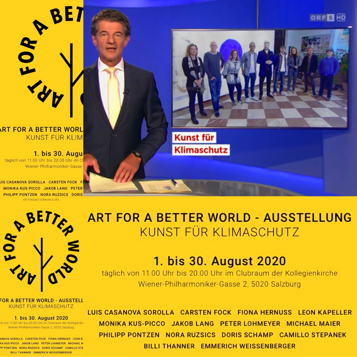 AUSTSTELLUNG: ART FOR A BETTER WORLD